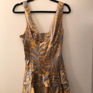 Marciano satin dress. Never worn with tags.